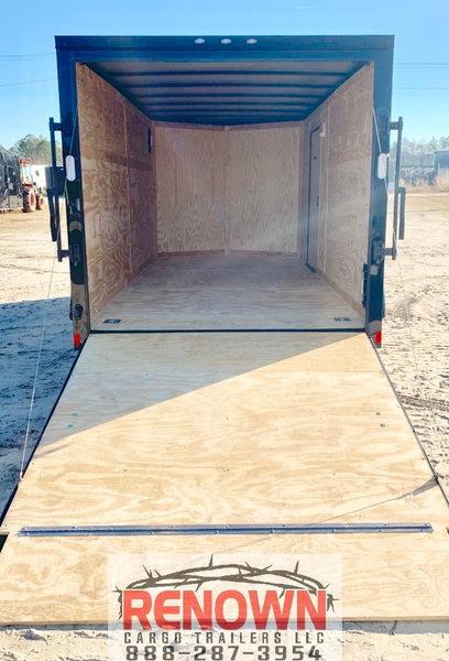 *2021* 7X16 Tandem Axle Enclosed Cargo Trailer BLACKOUT   for Sale $5,899