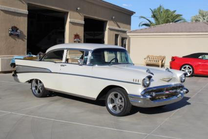 1957 cheverolet bel air pro tour frame off  trade  for Sale $48,000