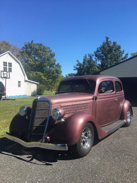 1935 ford all steel Slantback
