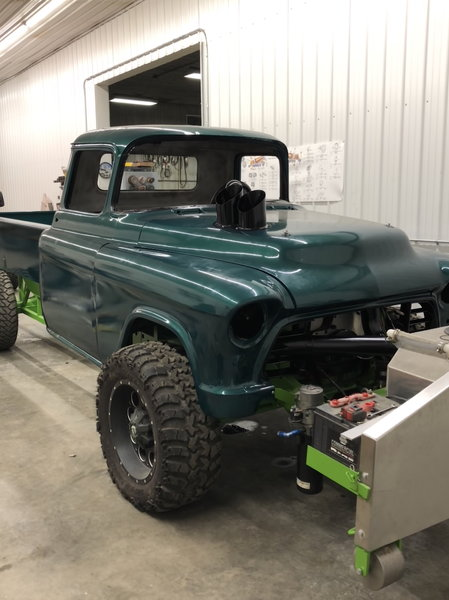 56 chevy open driveline chassis