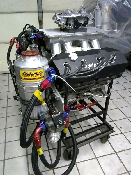 Ray Barton 426 Hemi 572 CI Engine 1275HP  for Sale $11,000