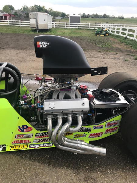 SUPER COMP DRAGSTER COMPLETE TURNKEY PACKAGE