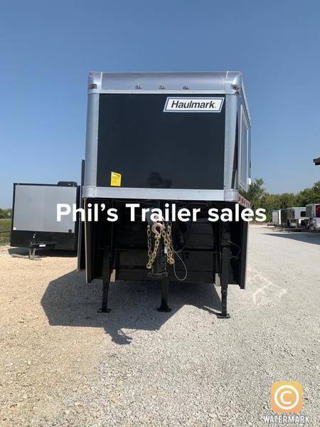 40 Haulmark Race Trailer gooseneck loaded   for Sale $46,999