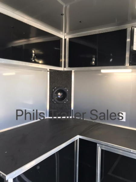 32' HAULMARK EDGE PRO  RACE TRAILER WITH NEW UPGRADED CABS E  for Sale $23,999