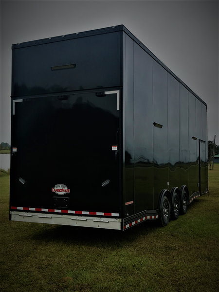 2019 30' Black Out Aluminum Stacker