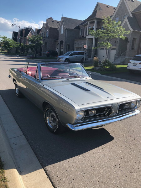 1967 Plymouth Barracuda  for Sale $39,000