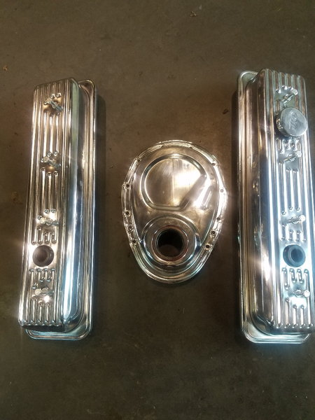 350 valve & timing covers  for Sale $40