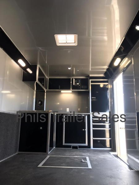 32' HAULMARK EDGE PRO RACE TRAILER BLACKOUT  WITH NEW UPGRAD  for Sale $24,999