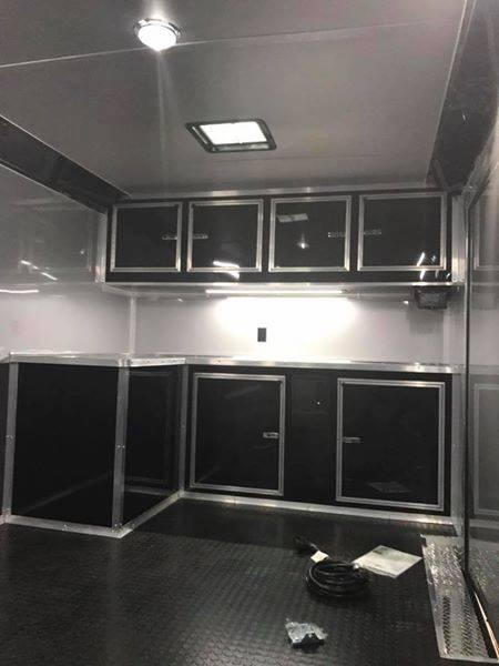 2020 28' Blacked out race trailer Continental Cargo    for Sale $16,999