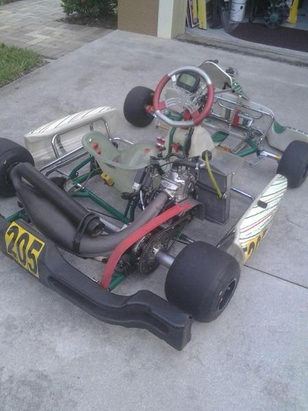State&National Level Kart Racing Equipment & Kart
