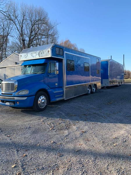 2001 S&S Liftgate Truck and Trailer For Sale