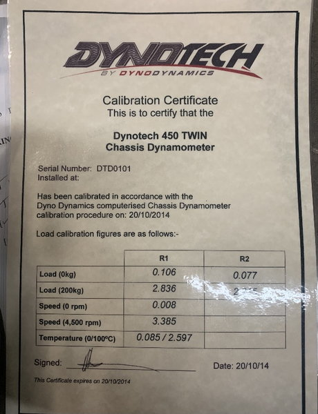 Dyno tech 450 twin chassis dyno  for Sale $40,000
