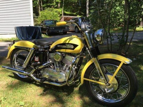 1956 Harley-Davidson KHK  for Sale $12,000