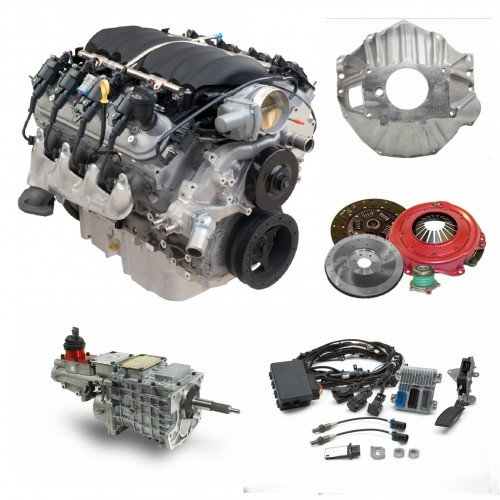 Ls3 Engine Package For Sale: LS3 430HP & 5 Speed TKO-600 Trans Package For Sale In