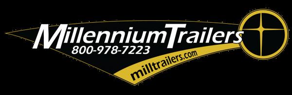 *READY 5/11 *2021 28' Millennium  w/Spread Axles & Wing