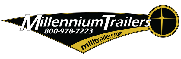 Ready 2019 28' Millennium Extreme Enclosed Race Trailer