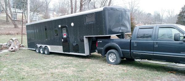 34 goose neck trailer  for Sale $8,900