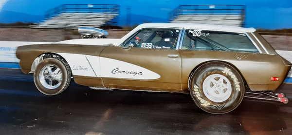 """1973 Vega """"Corvega"""""""