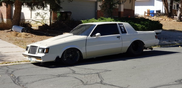 87 Buick Twin Turbo   for Sale $29,000