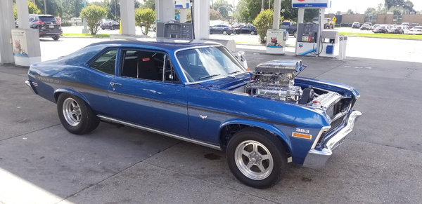 1970 Custom Chevy Nova