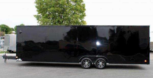 *Ready 9/2* 2022 28- Transport Car Hauler w/Blackout Pkg.