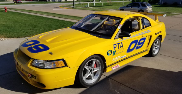 1999 Mustang GT Road Race Car  for Sale $10,000