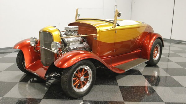1930 Ford Model A Rumble Seat Roadster  for Sale $44,995