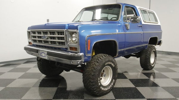 1979 Chevrolet Blazer Cheyenne K5 4x4  for Sale $34,995
