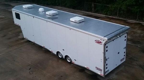 Custom Enclosed Trailer - 42 Foot All Aluminum  for Sale $57,000