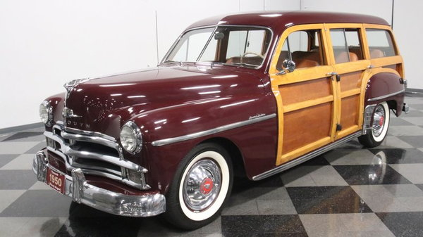 1950 Plymouth P20 Special Deluxe Woody Station Wagon  for Sale $49,995