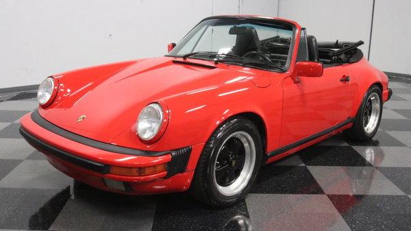 1989 Porsche 911 Carrera 2 Cabriolet  for Sale $39,995