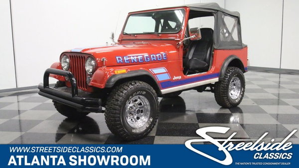 1983 Jeep CJ7  for Sale $19,995