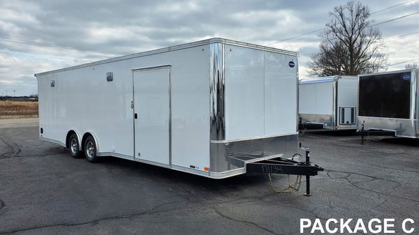 2021 United XLT Racing Series 8.5' x 28' TAG  for Sale $15,574