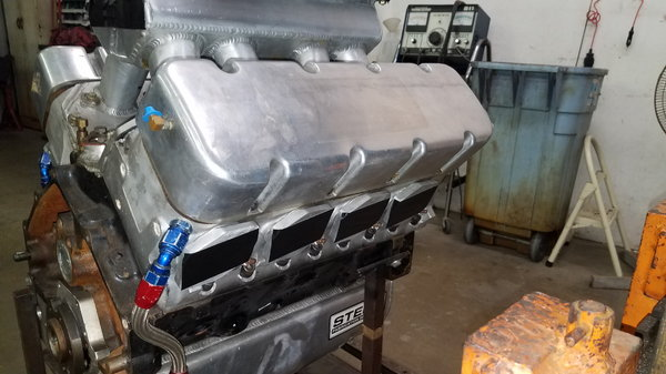 SMALL BLOCK CHEVY 13* SPLAYED VALVE RACE ENGINE  for Sale $10,500