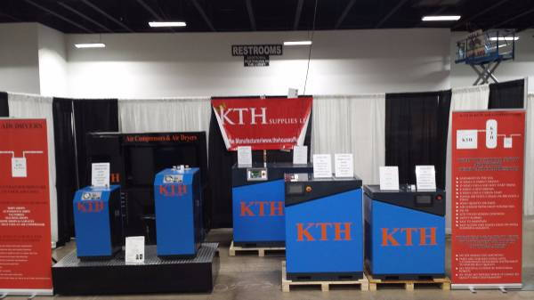 KTH 10Hp rotary screw Air  Compressor ( DEMO MODEL )  for Sale $4,000