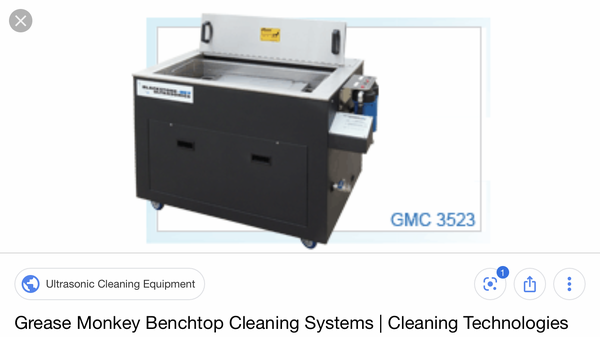 Blackstone-NEY grease monkey ultrasonic cleaner  for Sale $4,200