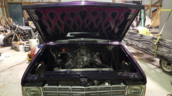 Chevy s-10 drag truck