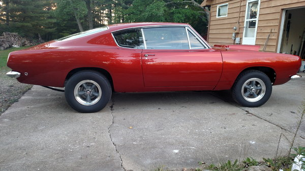 1968 Plymouth Barracuda  for Sale $87,500