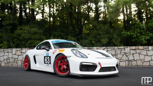 2016 Porsche Cayman Gt4 Clubsport For Sale In Atlanta Ga Price 124000