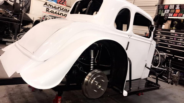 Brand New Joe Ryan built Legend Car