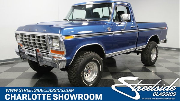 1979 Ford F-150 Ranger XLT 4x4  for Sale $33,995
