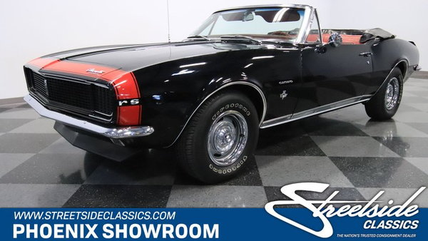 1967 Chevrolet Camaro RS Convertible  for Sale $39,995