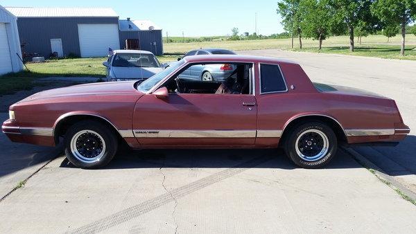 1987 Chevrolet Monte Carlo  for Sale $10,000