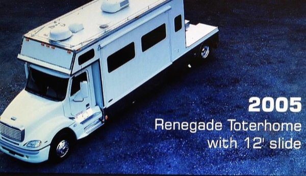 2005 Renegade Toterhome 909 912 2739  for Sale $98,500