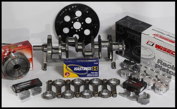 """383 STROKER ASSEMBLY SCAT CRANK 6"""" RODS WISECO -12cc Dh  for Sale $1,150"""