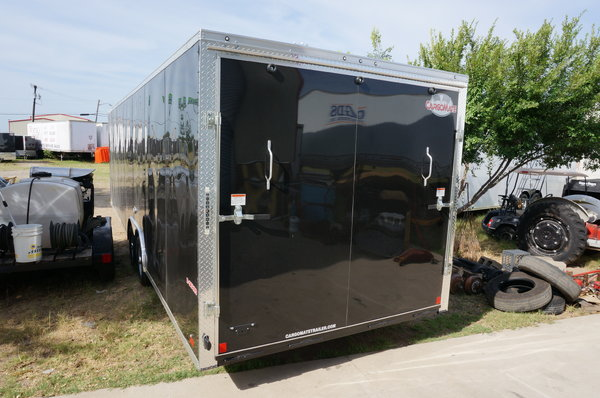8.5 X 28' ENCLOSED SCREWLESS TRAILER   for Sale $9,600
