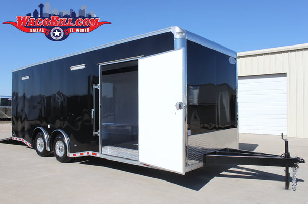 24'ft. Nitro 12K LED-X-Height Nitro Race Trailer Wacobillcom