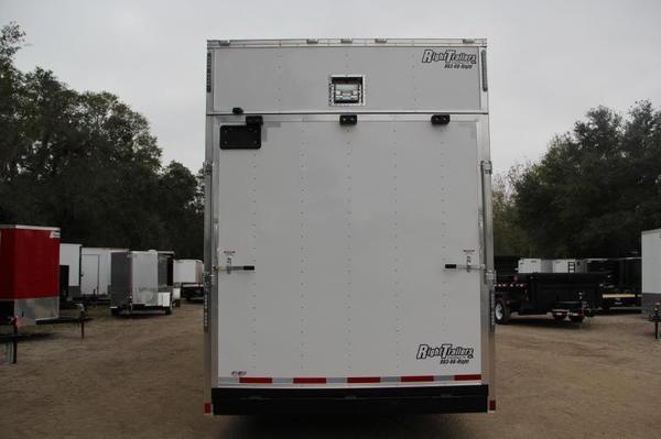 8.5x30 Stacker Race Trailer - Pro Loaded Package