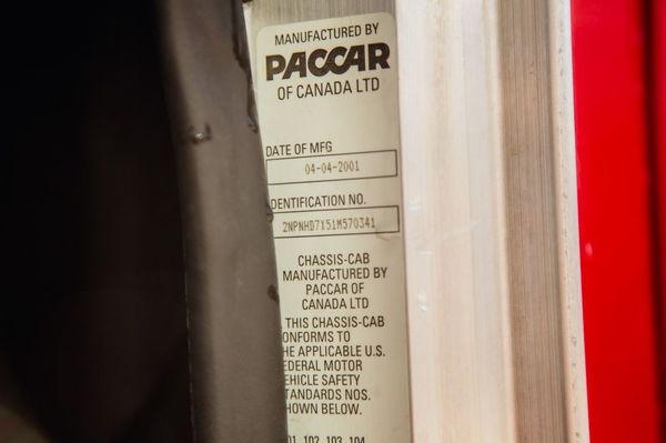 2001 PETERBILT 330 CAT RV HAULER CONVERSION   for Sale $67,500