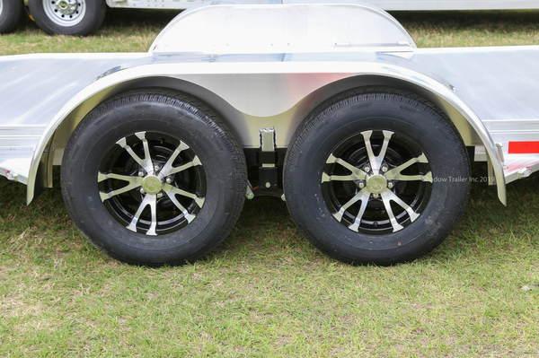 2019 STW Open Car Hauler with Aluminum wheels